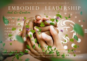 Embodied Leadership and Co-creation @ Copenhagen, Denmark