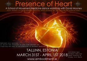 Presence of Heart @ Tallinn, Estonia