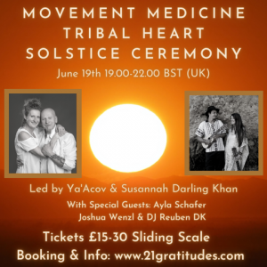 Tribal Heart Solstice Ceremony @ where you are
